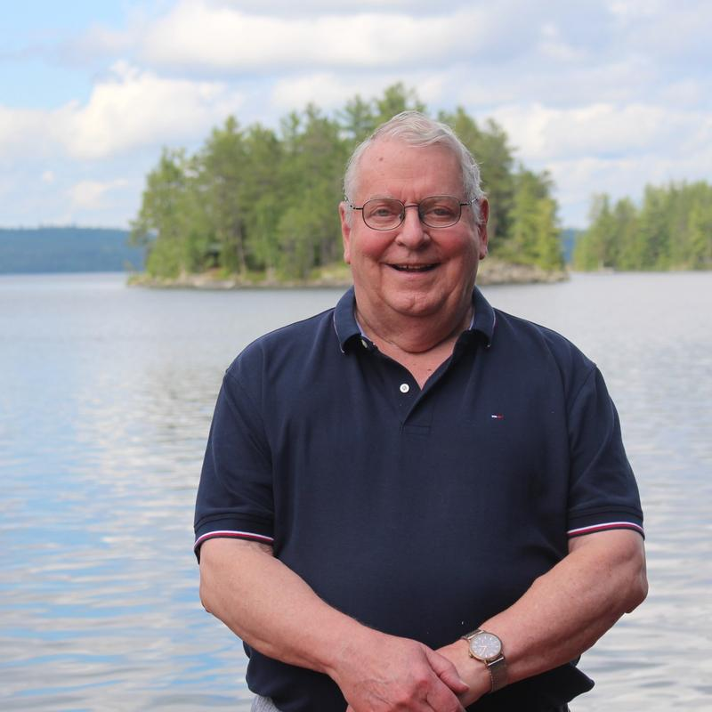 senior director and founder of Canadian Adventure Camp, Skip Connett