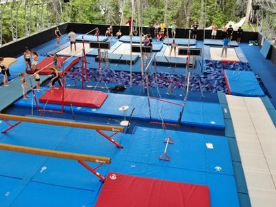 view of the gymnasium at Canadian Adventure Camp