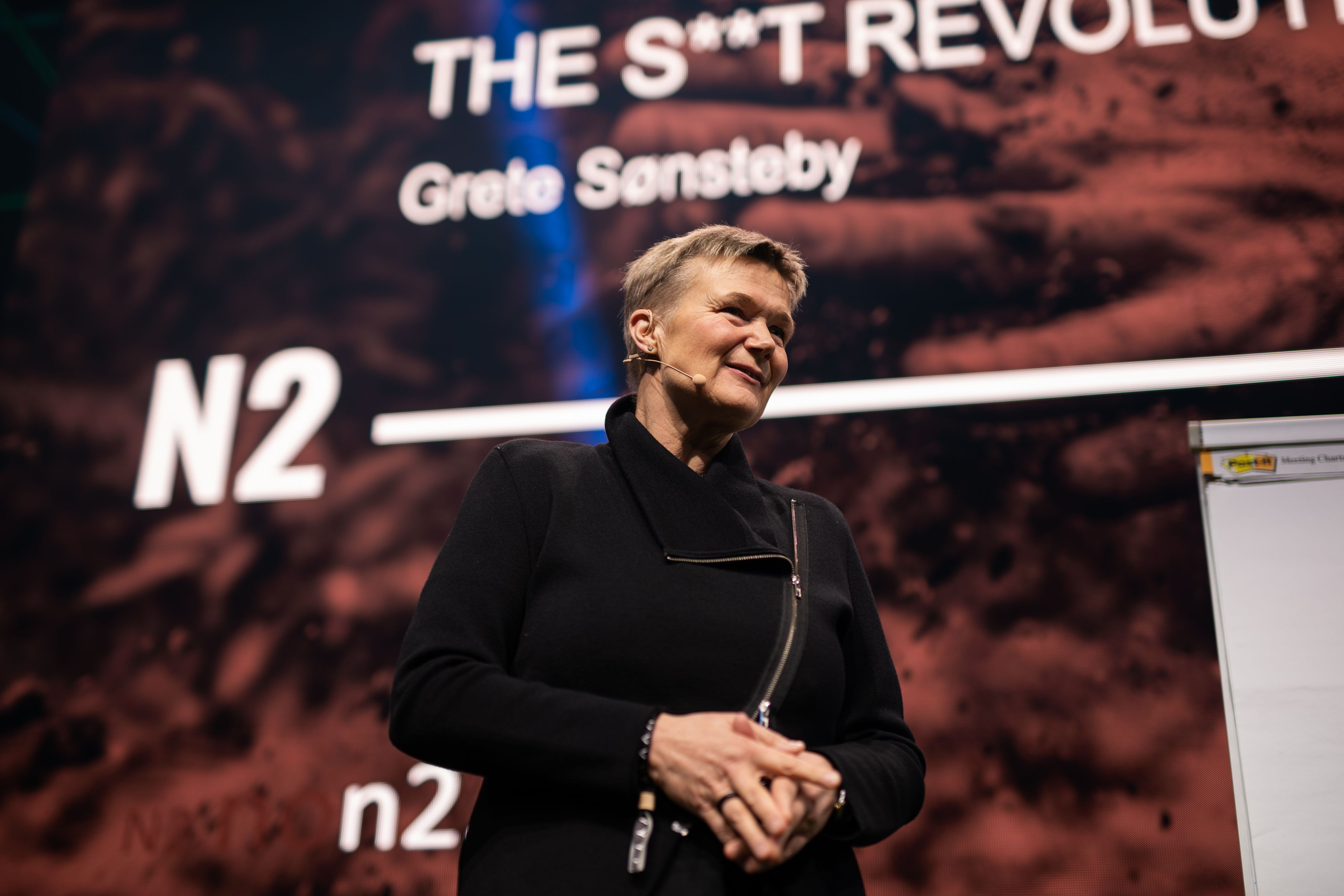 Photo of Grete Sønsteby