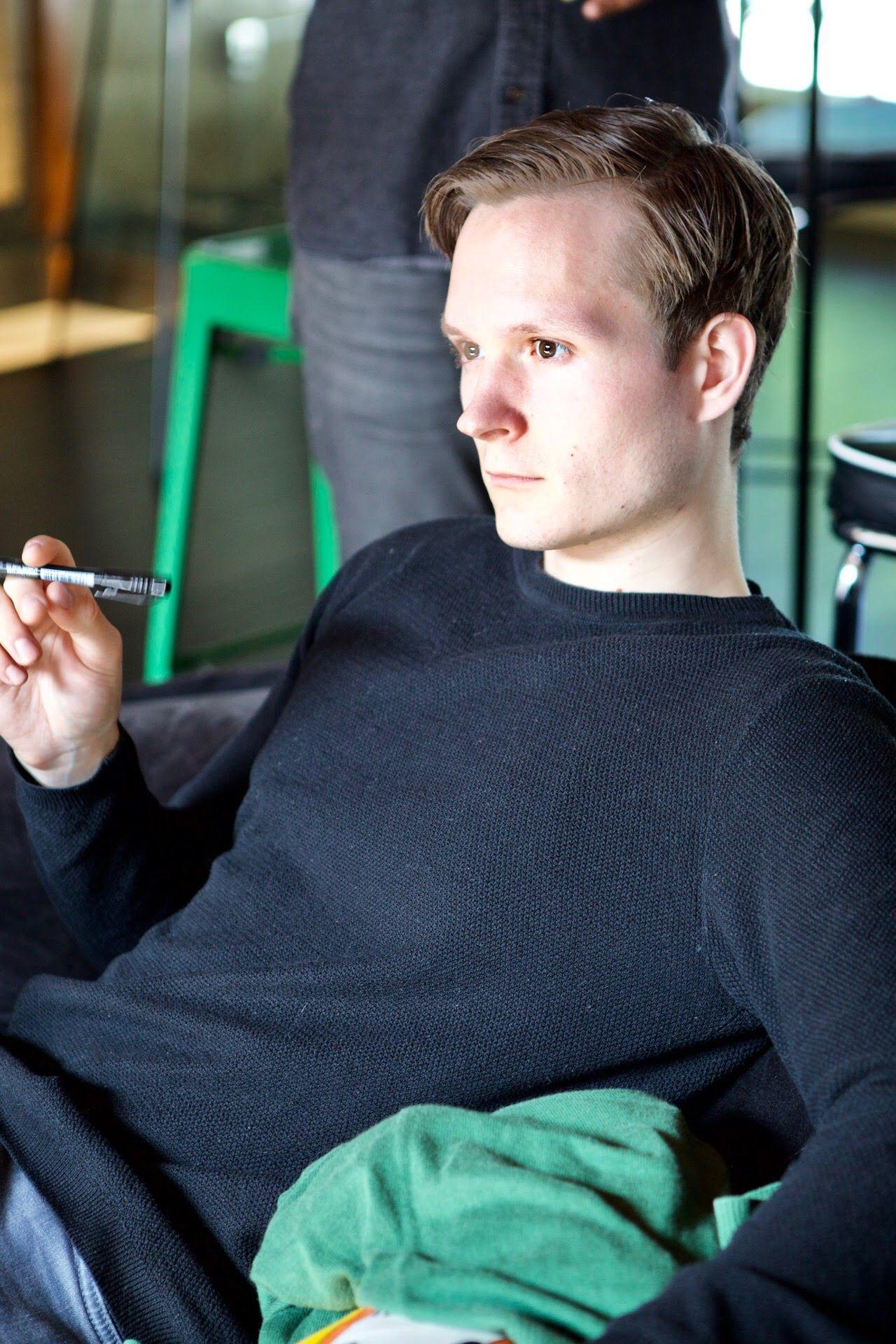 Photo of Kristian Saksvik Munkvold