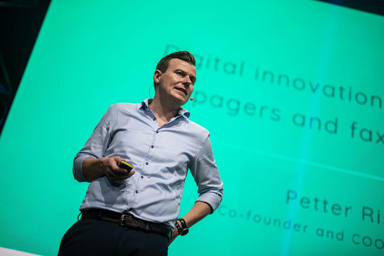 Photo of Petter Risøe