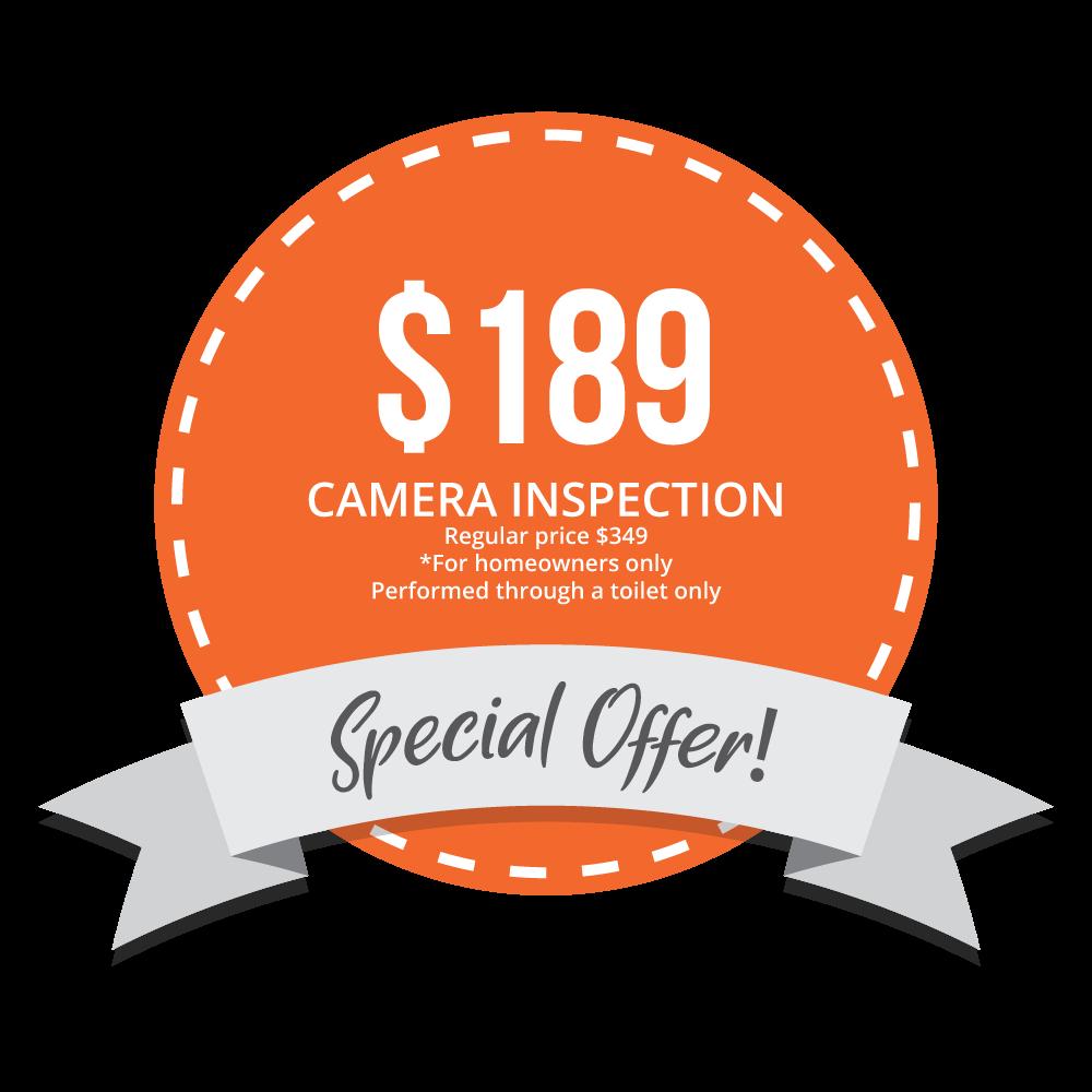 $189 Off Camera Inspection