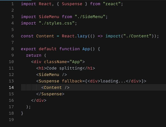 ReactJS Code Splitting in 3 minutes