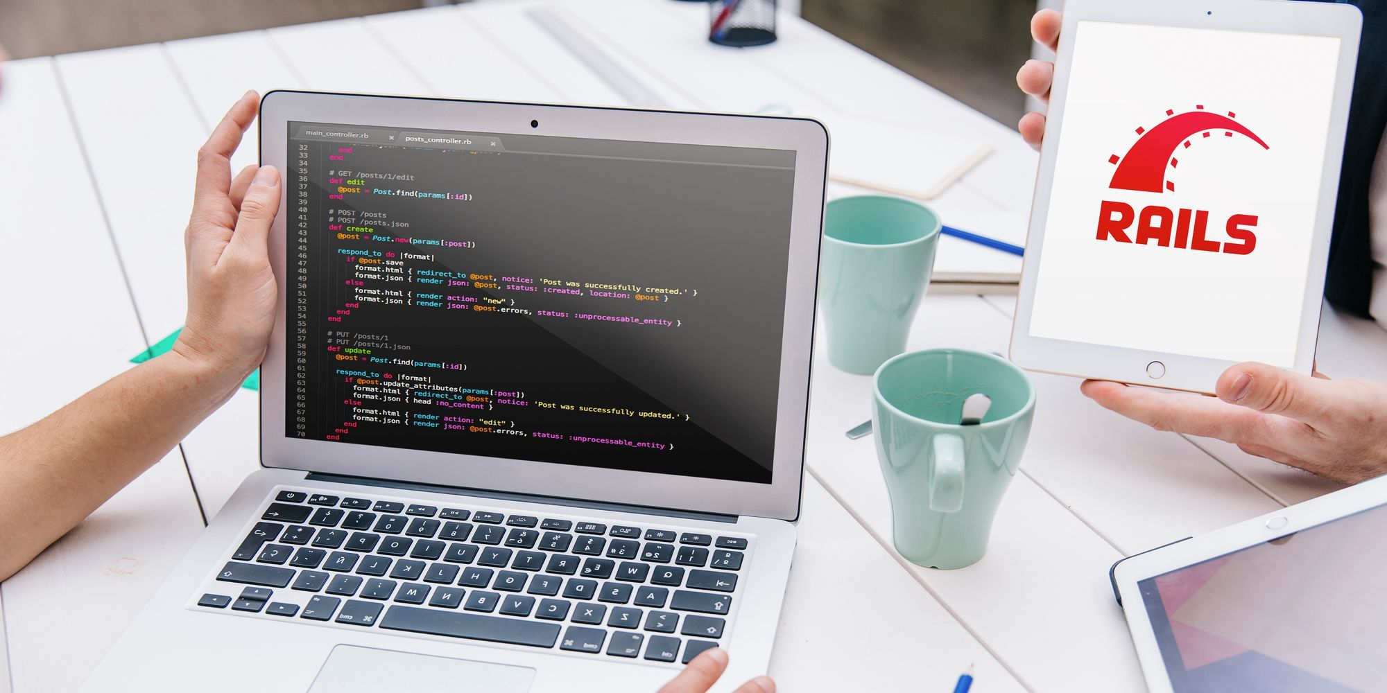 Develop PC with Rails Software