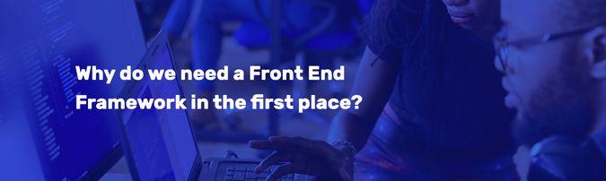 front end framework