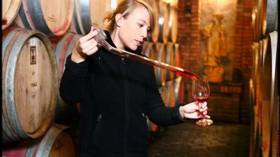 Much care and art for Pinot Noir