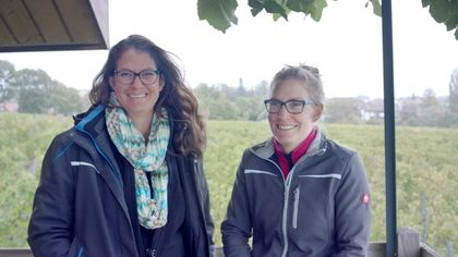 Two winegrowing sisters join forces