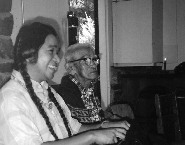 Grandpa Barney with Johnny