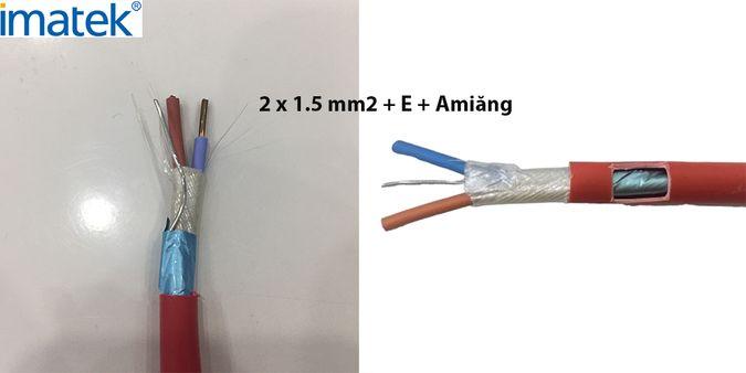 Cáp chống cháy chống nhiễu phôi nhôm + E + Amiăng (Mica Tape)