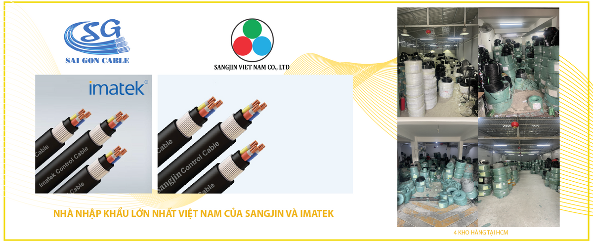 Nhà nhập khẩu lớn nhất Việt Nam của Sangjin và Imatek