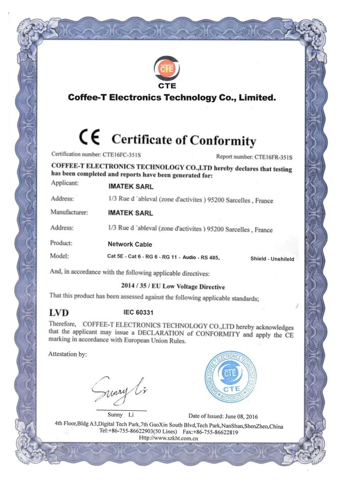 CE - còn gọi là CoC (Certificate of Conformity) là