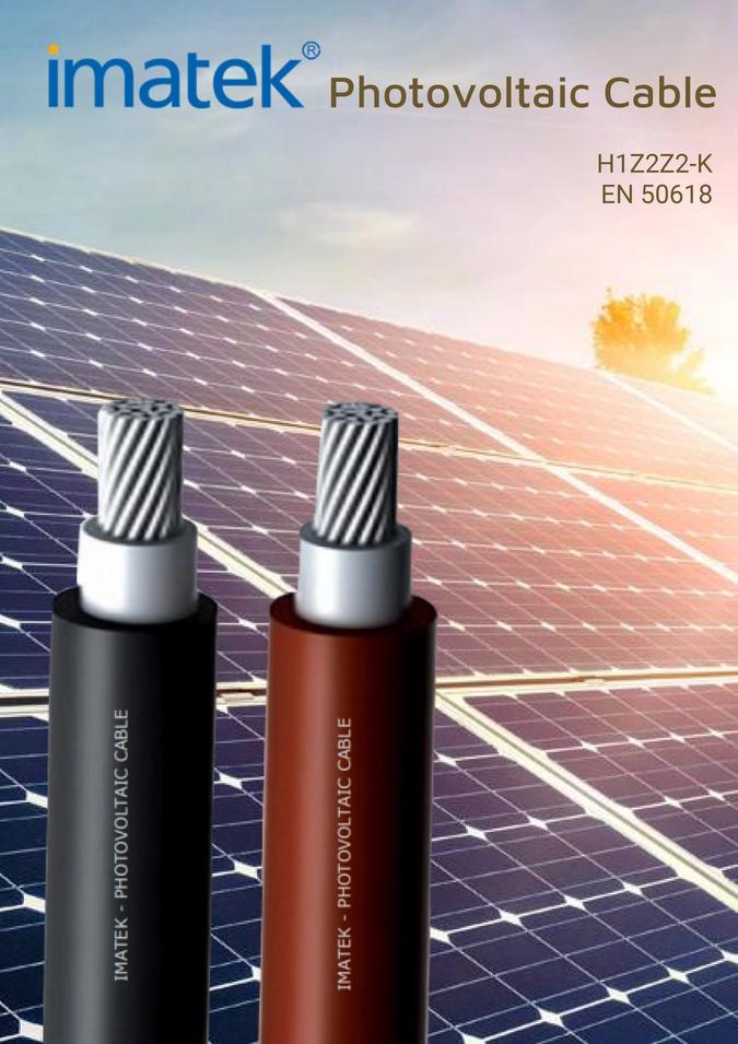 cáp năng lượng mặt trời imatek