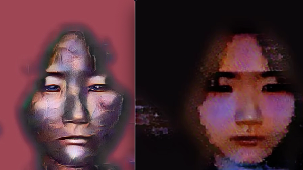 Experimenting with RunwayML to generate VHS-like lo-fi video effects