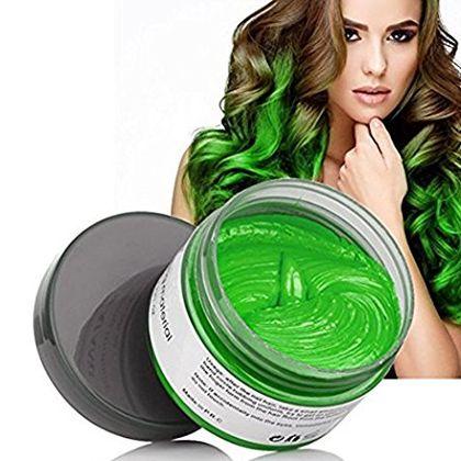 Color Hair Wax Green 120g | Hair Coloring Material