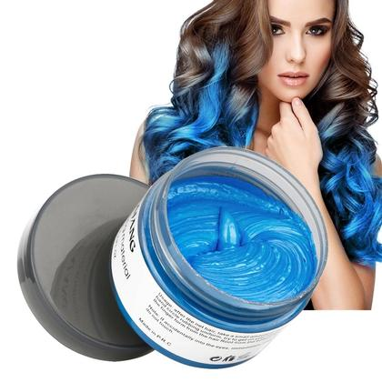 Color Hair Wax Blue 120g | Hair Coloring Material