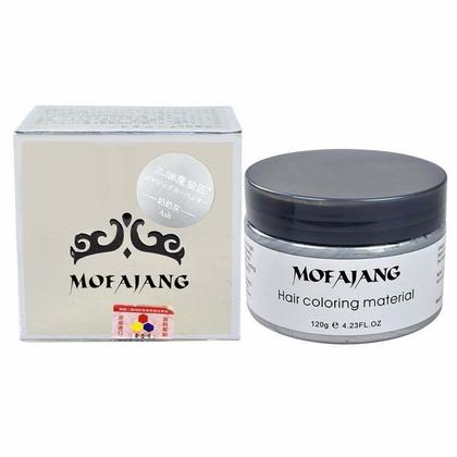 Color Hair Wax Silver 120g | Hair Coloring Material