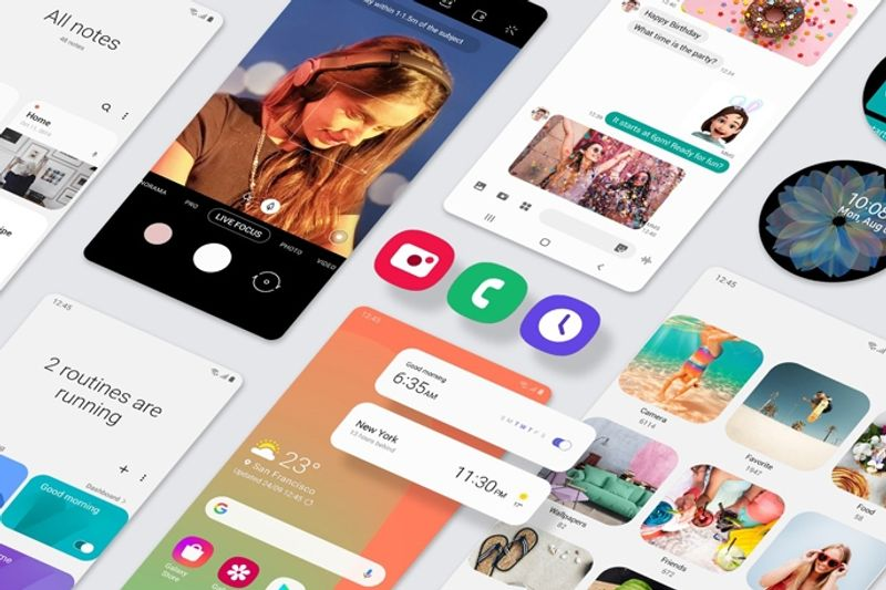 Android 10 and Samsung One UI 2.0