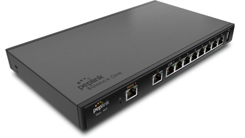 Advanced Dual-WAN Router with an impressive range of features