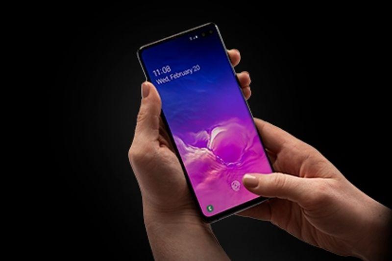 smartphone ultrasonic fingerprint ID