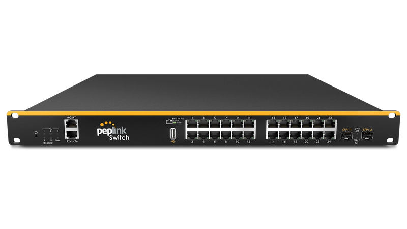 Enterprise-Grade PoE Switch with Cloud Intelligence