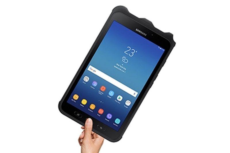 tablet with fingerprint scanner