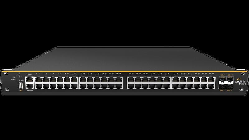 Enterprise-Grade PoE Switch with Cloud Intelligence