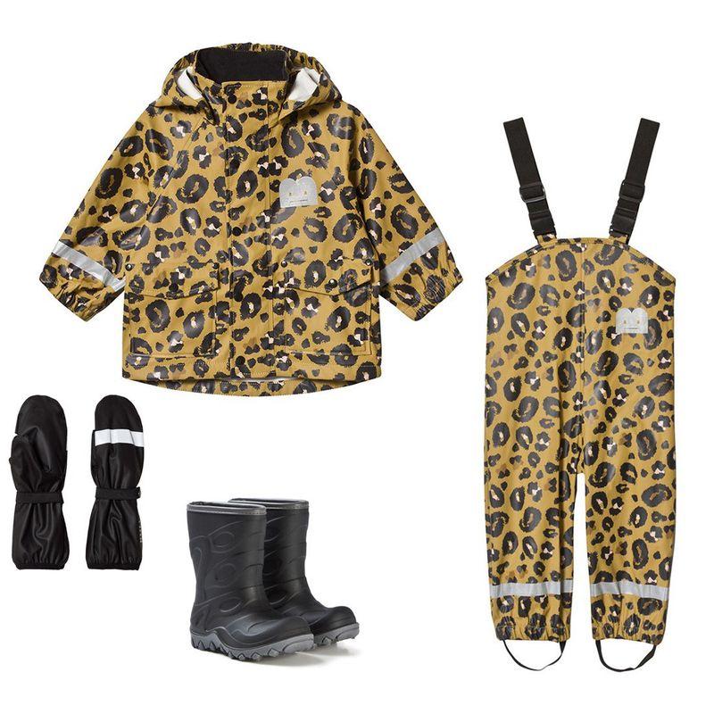Regnset från The Brand i leopardmönster