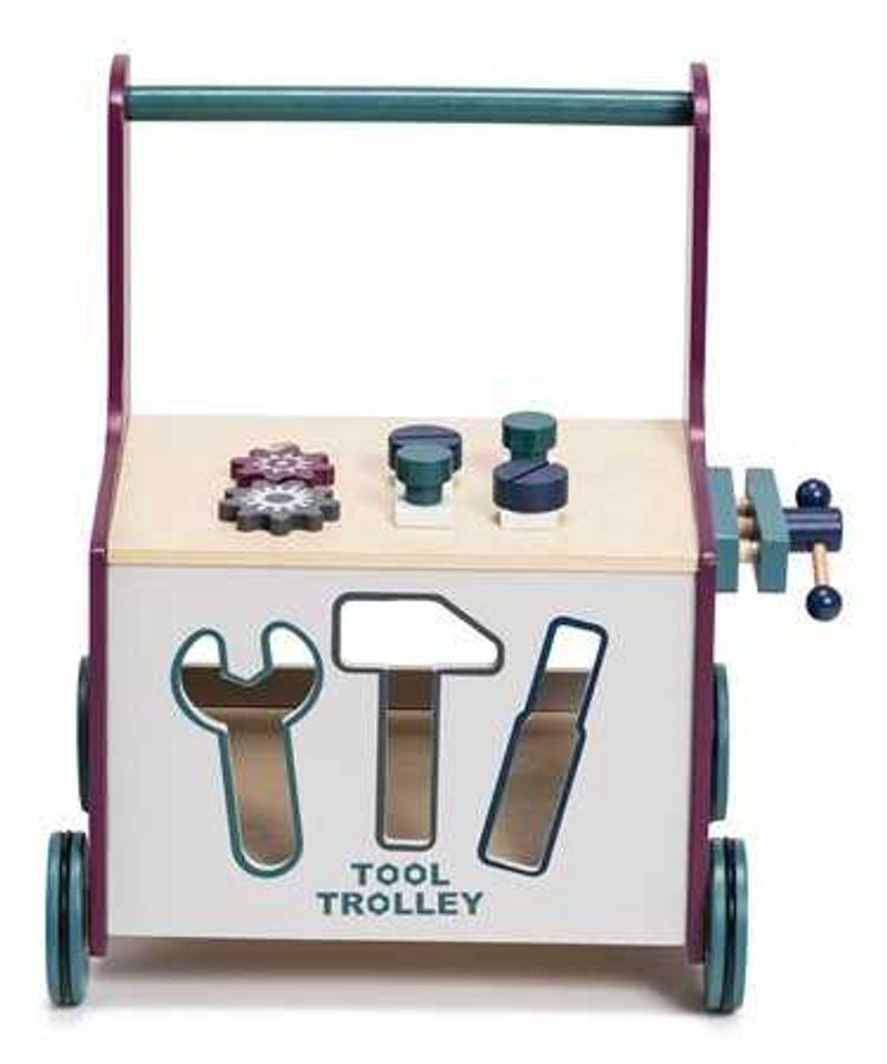 Hobie & Bear Lära-gå-vagn