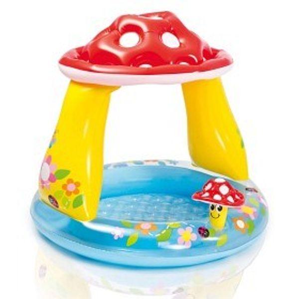 Intex Mushroom - Babypool med tak