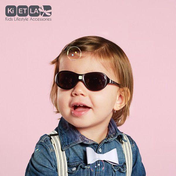 Solglasögon svarta, för barn 1-2,5 år.