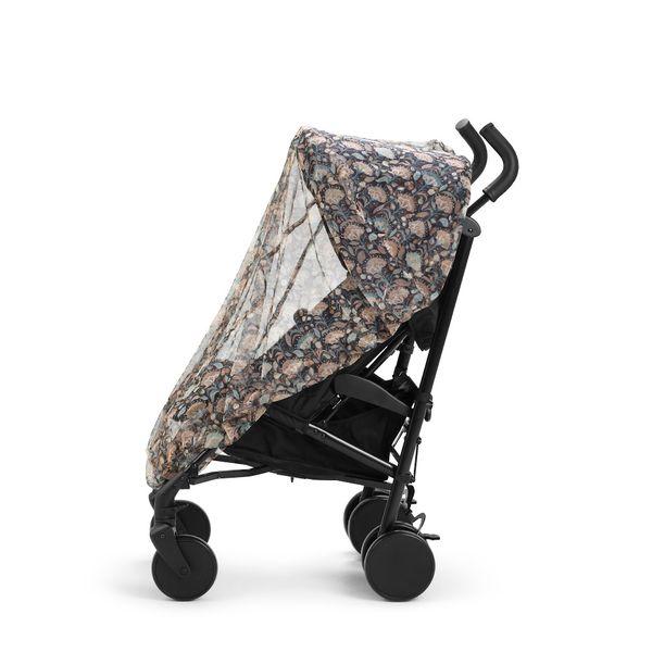 Elodie Details Myggnät Midnight Bells monterat på barnvagn