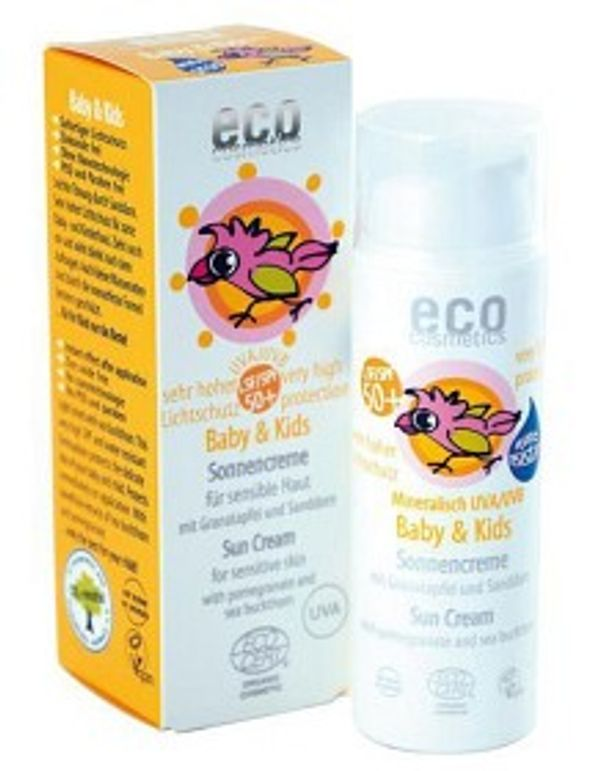 Eco Cosmetics Baby & Kids Solkräm SPF 50, 50 ml