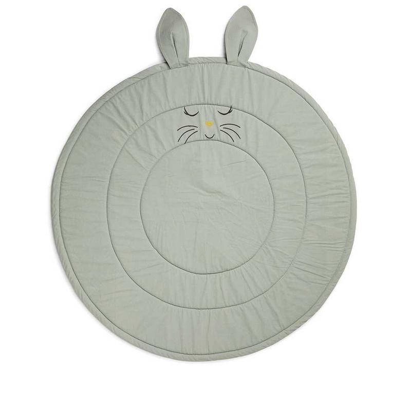 Lekmatta med kaninöron