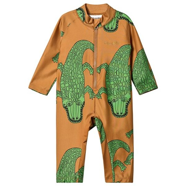 Crocco UV-suit brown från Mini Rodini