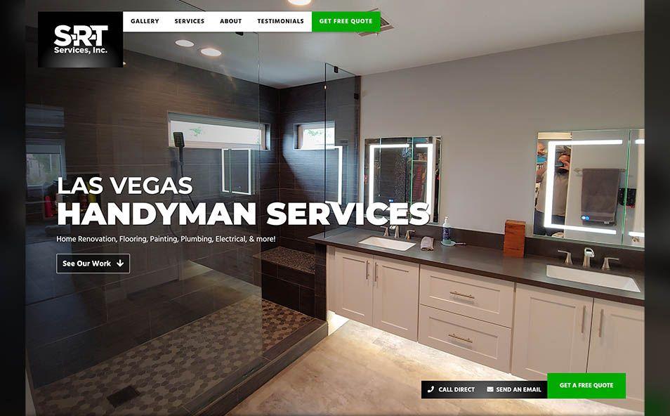 S-R-T Services Handyman Hero Image