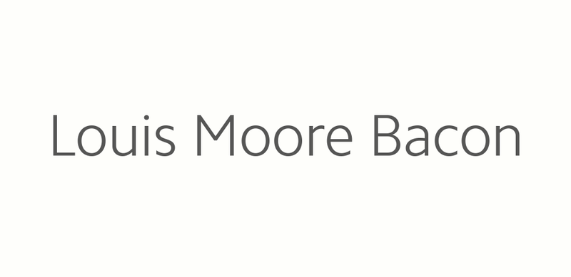 Louis Moore Bacon Logo