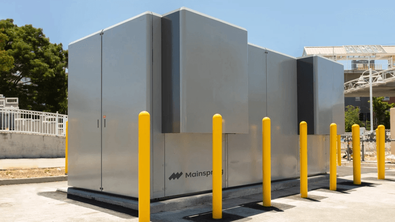 Mainspring Linear Generator
