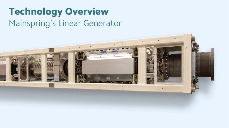 Graphic of Mainspring Linear Generator