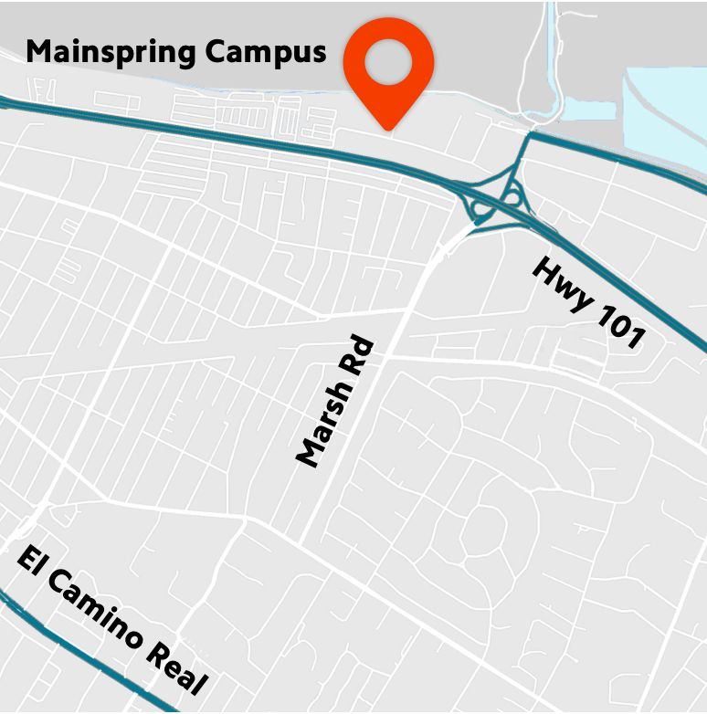 mainspring map location