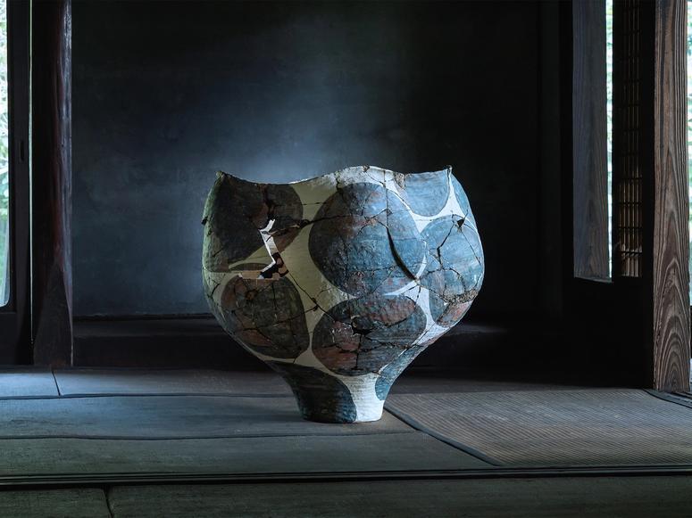 """""""Untitled"""" (2018–2019), by Kazunori Hamana and Yukiko Kuroda."""