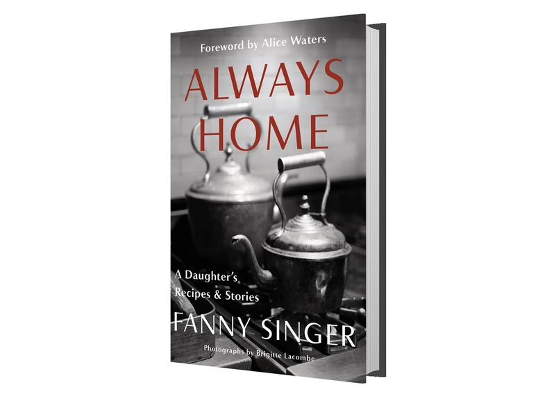 The book cover for Fanny Singer's Always Home.