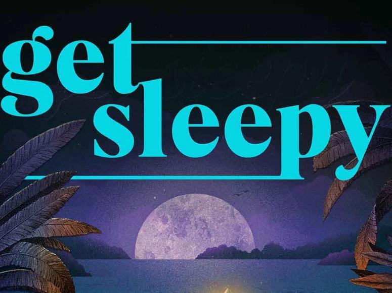 The Get Sleepy podcast art.
