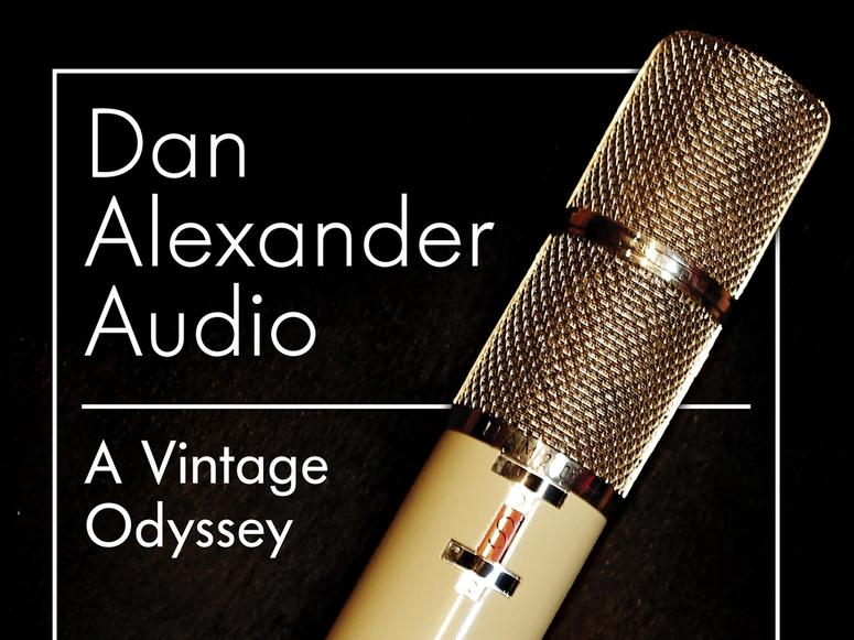 A Vintage Odyssey cover image, featuring a vintage microphone.