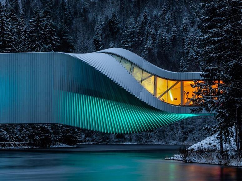 The Kistefos Museum in Jevnaker, Norway