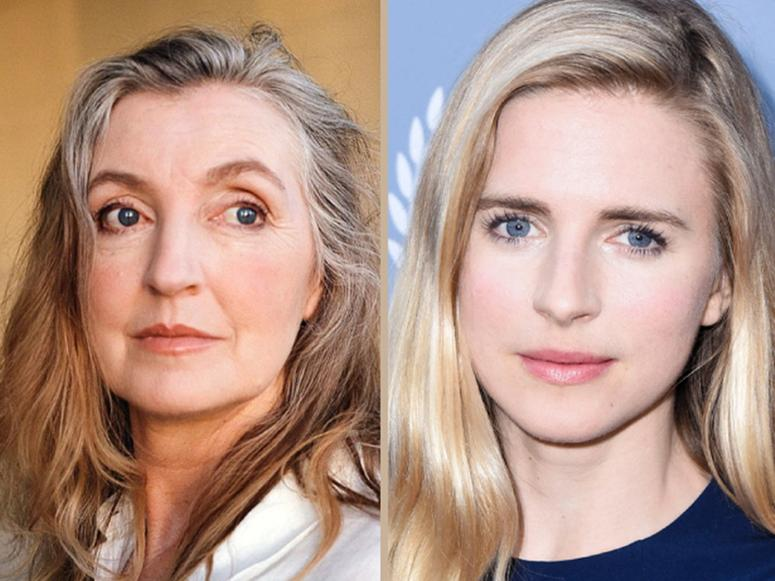 Rebecca Solnit and Brit Marling.