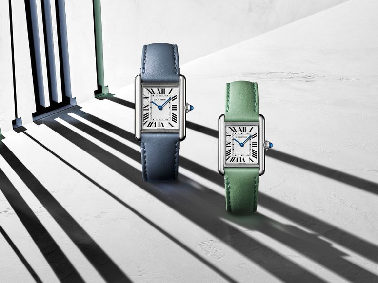 Two Cartier watches