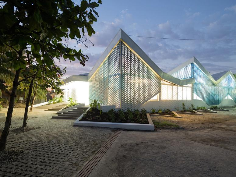 A building designed by MASS Design Group.