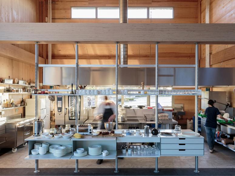 The Vitsoe kitchen.
