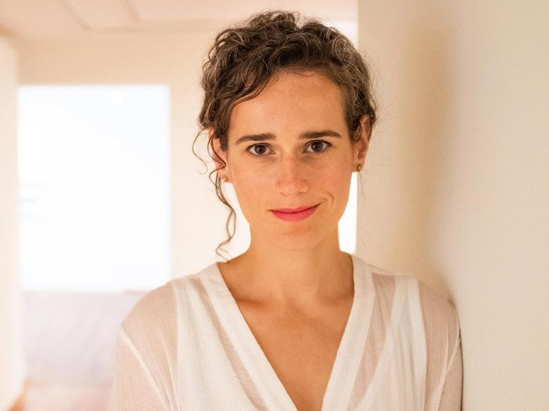 Journalist and writer Julia Cooke