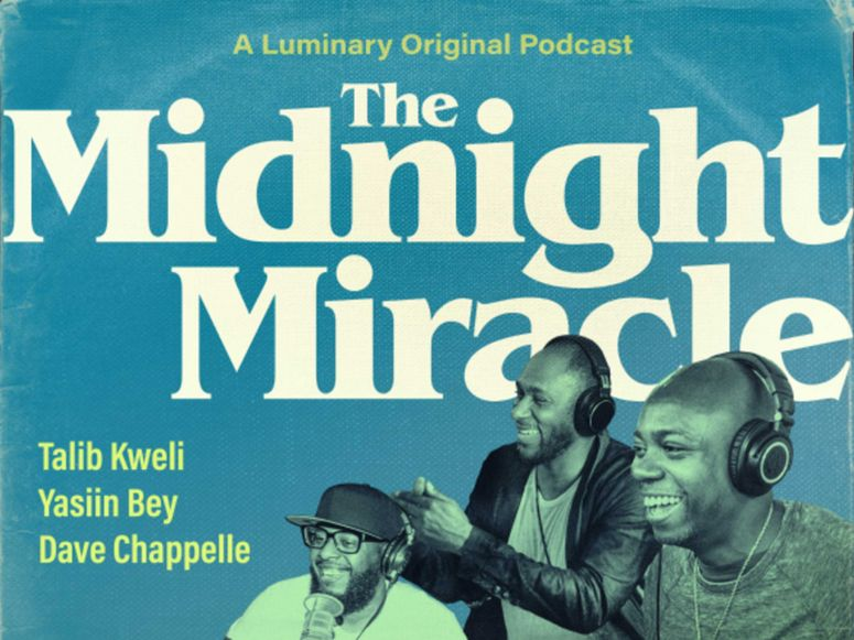 Poster for The Midnight Miracle podcast